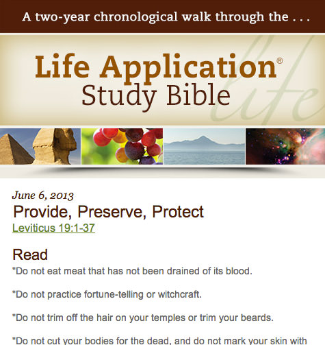 New Living Translations: Devotional Emails